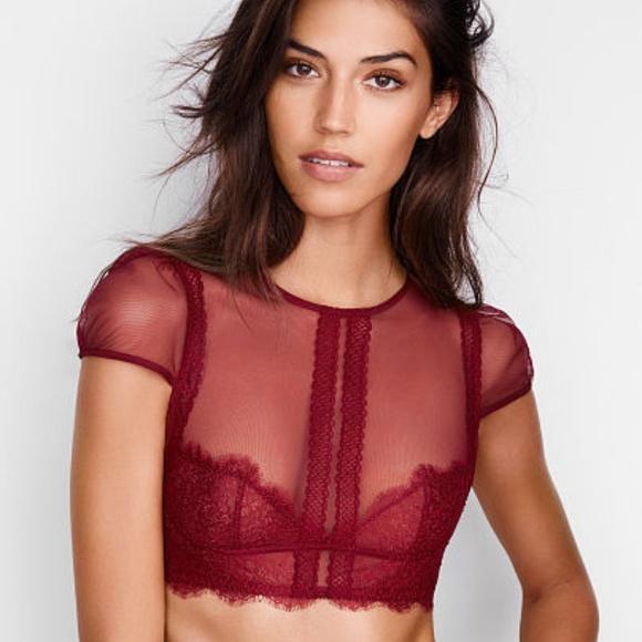 f5b02a5e6249f ❤️NWT Victoria s Secret Lace Bra Top